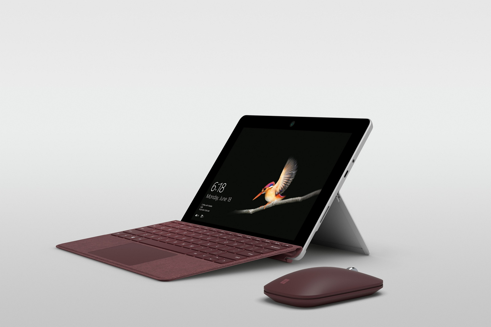 Surface Go with keyboard and mouse