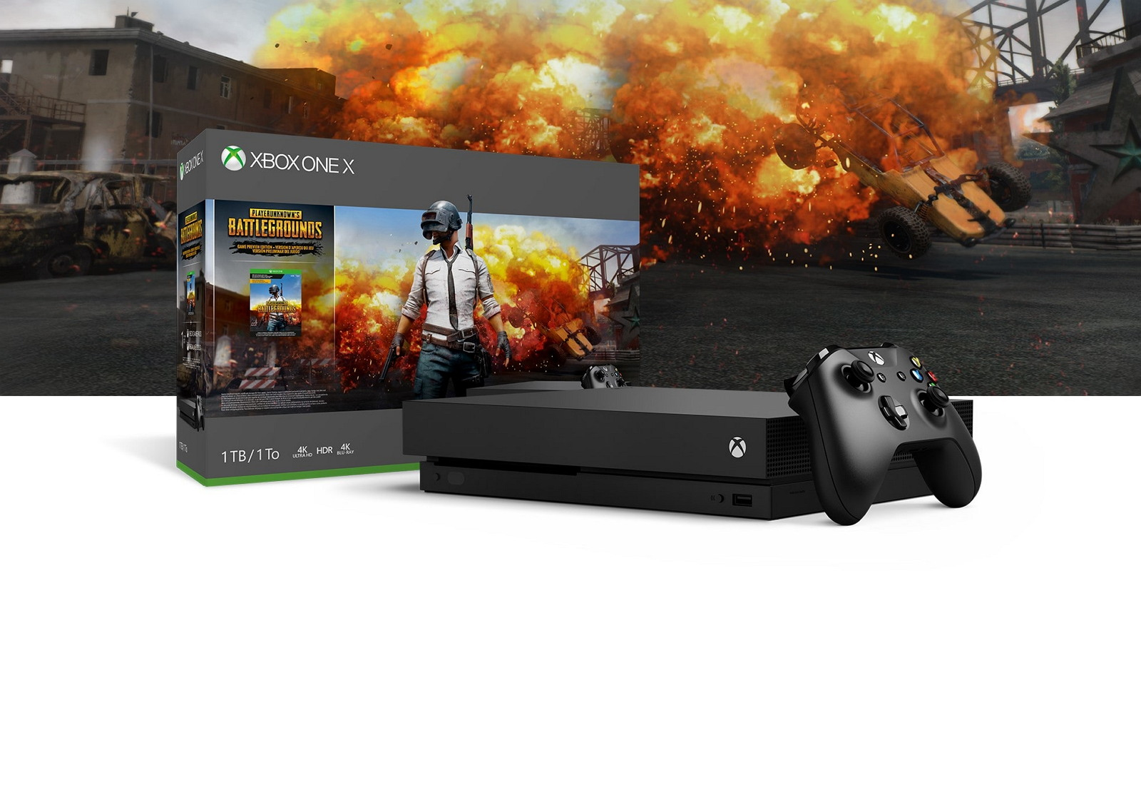 Xbox One X PUBG bundle