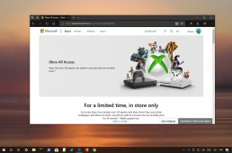 Xbox All Access promotion