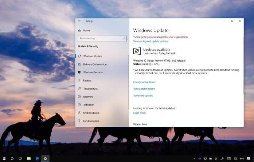 Windows 10 build 17760
