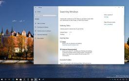 Enhanced search mode on Windows 10