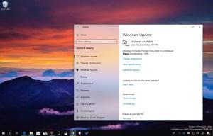 Windows 10 build 18262