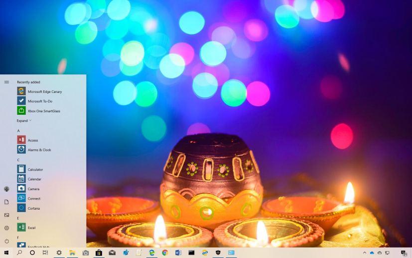 Festival of Lights theme for Windows 10