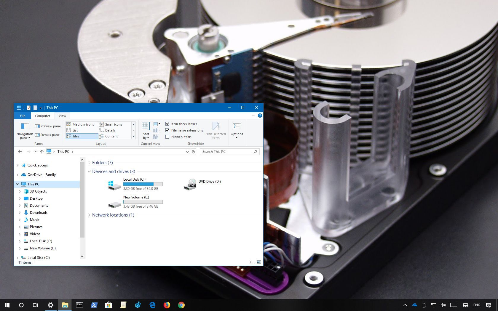 Hard drive for computer and NAS