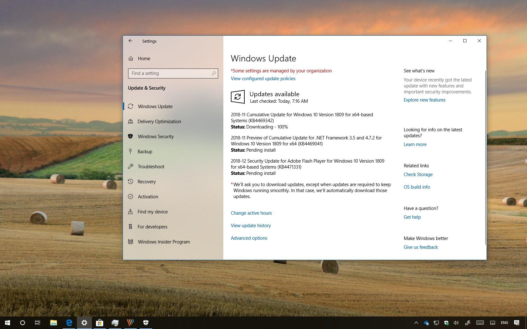 Sysprep Windows 10 1809