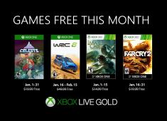 Xbox Games with Gold for January 2019