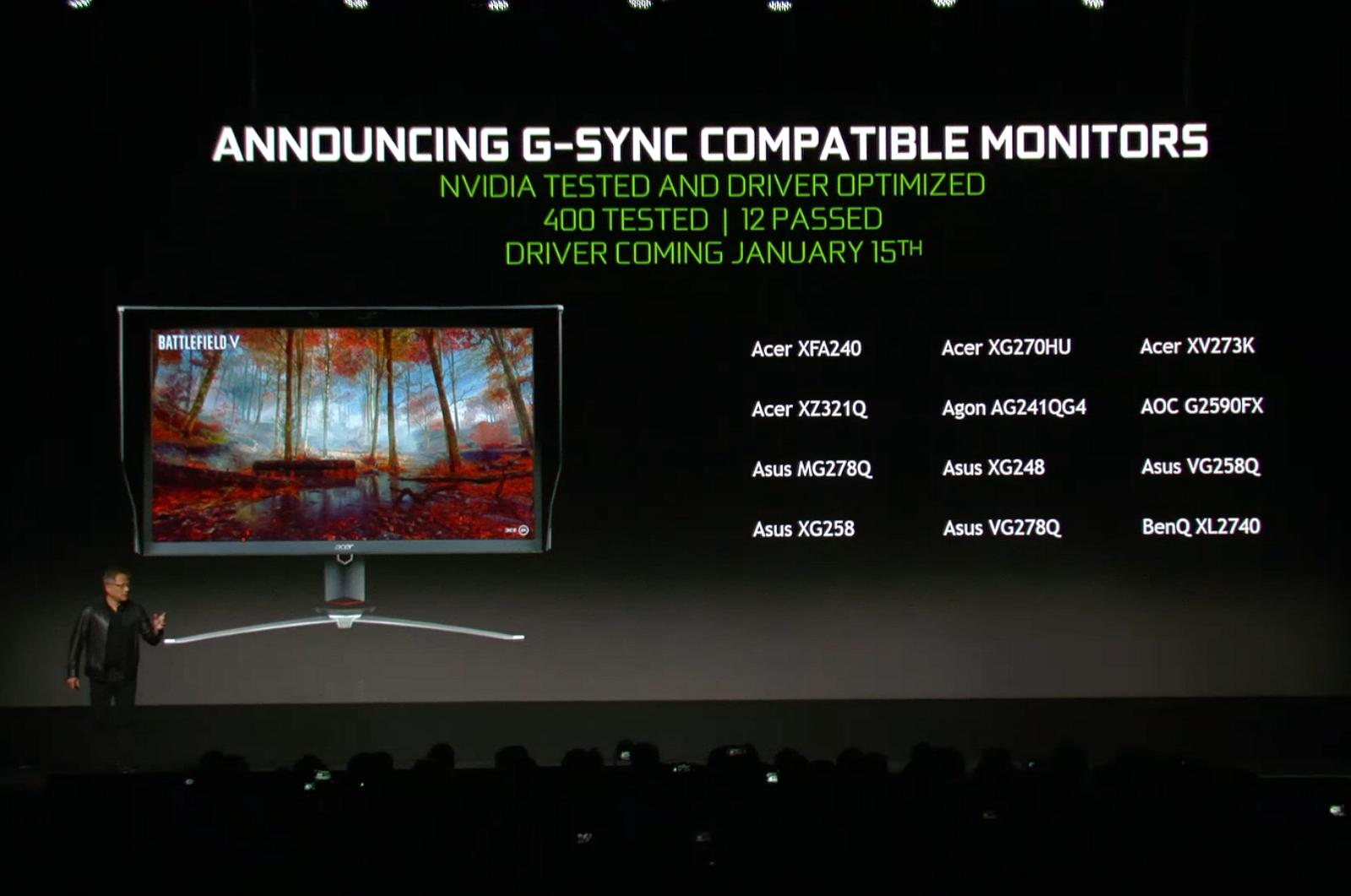 Nvidia G-Sync on FreeSync monitors
