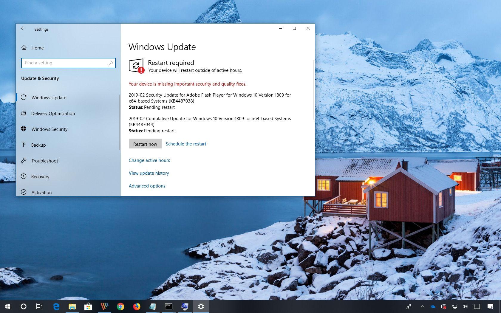 Windows 10 update KB4487044 (build 17763 316) releases • Pureinfotech