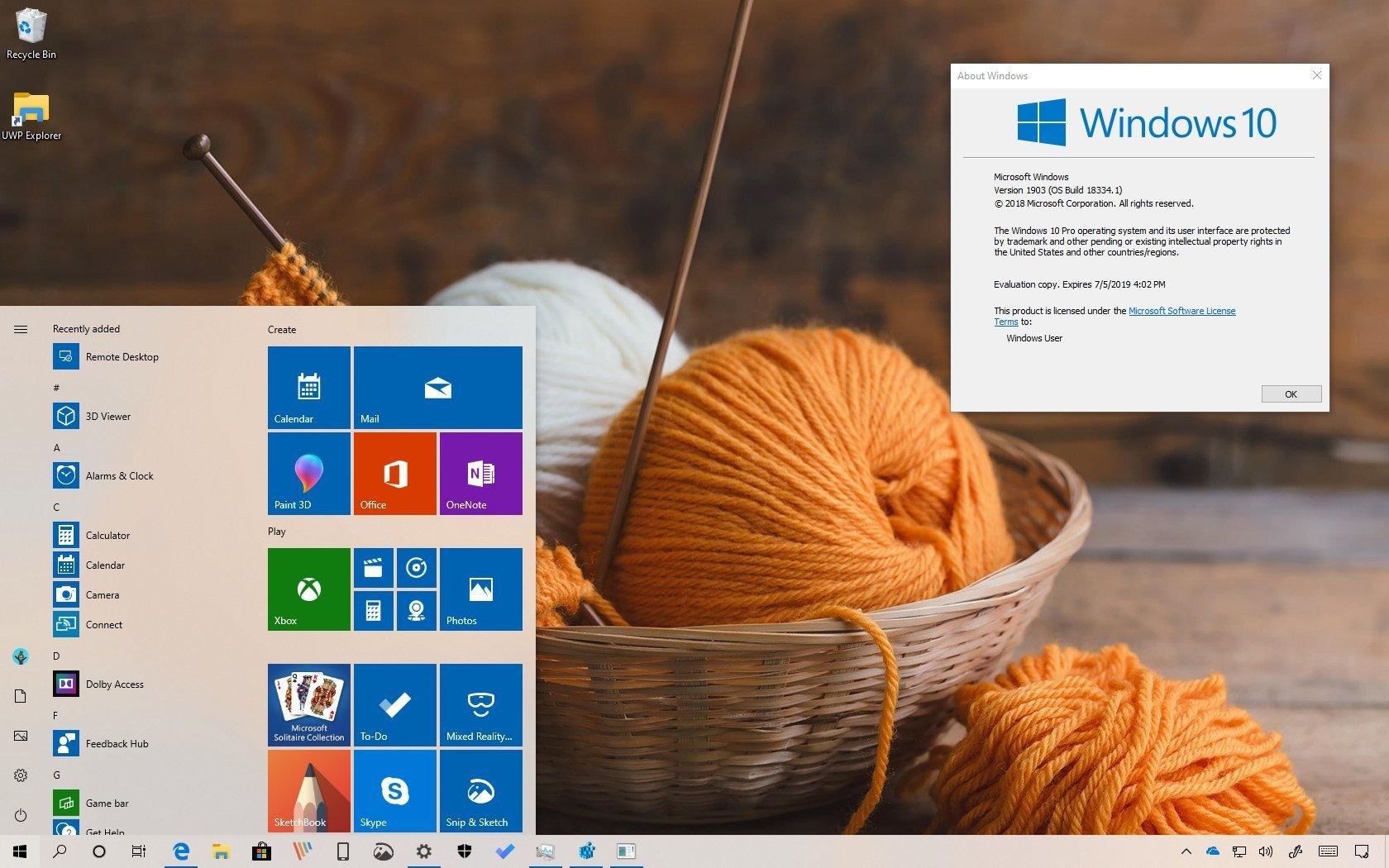 Best windows version 2019 | Windows 10 May 2019 Update (1903