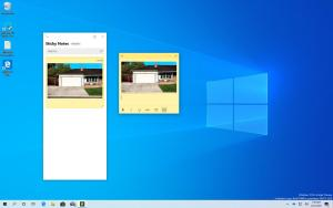 Sticky Notes with image feature on Windows 10