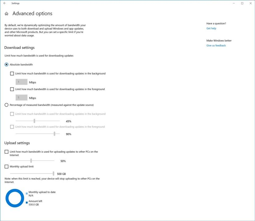 Delivery Optimization for Windows 10 20H1