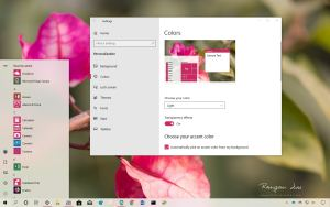 Match Windows 10 accent color from desktop background