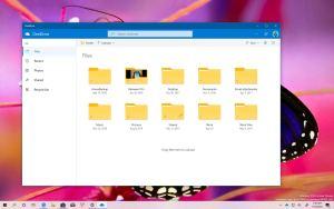 OneDrive Progressive Web App for Windows 10