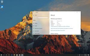 Windows 10 version 1909, 19H2 development