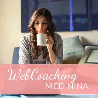 Gledes 1:1 WebCoaching pakker med Nina