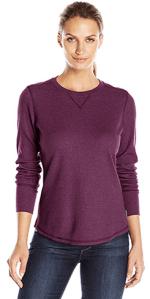 vêtements pour l'hiver - t-shirt chaud à manches longues