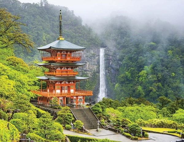 飛流古寺繞山川   日本那智山之旅