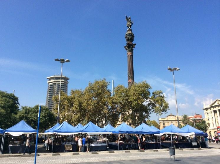 Street Market @ Columbus Monument