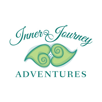 Inner Journey Adventures logo by Purely Pacha