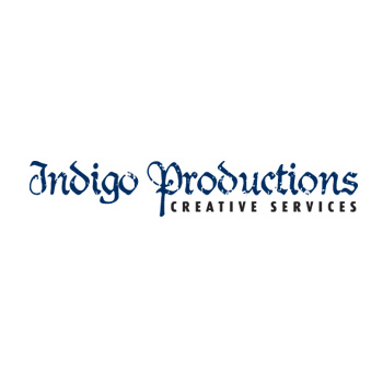 Indigo Productions logo by Purely Pacha