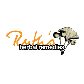 Ruth's Herbal Remedies logo by Purely Pacha