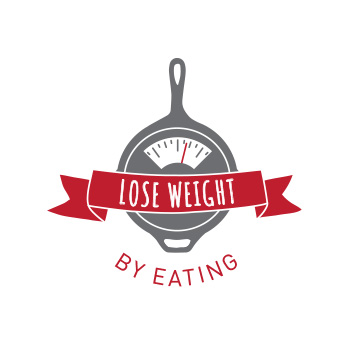 Lose Weight By Eating logo by Purely Pacha