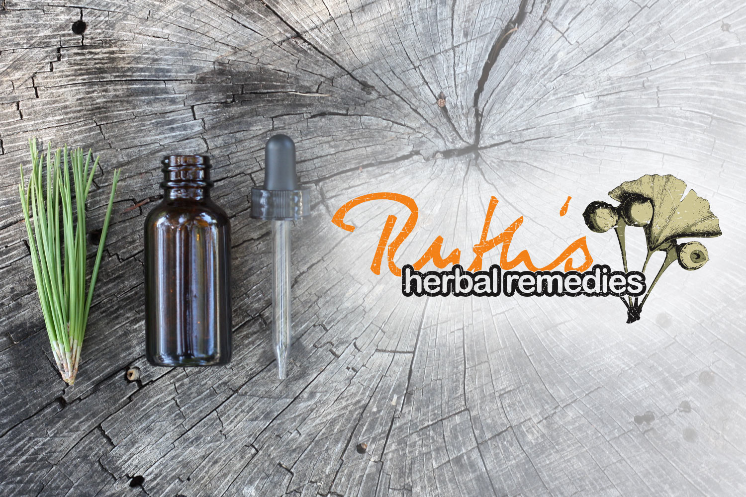 Ruth's Herbal Remedies - Logo and Identity Design