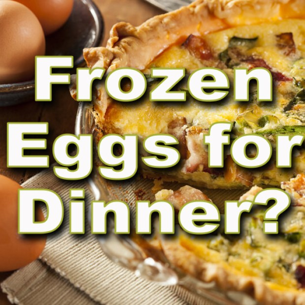 Frozen Eggs for Dinner?