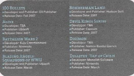 Proof of new Wii Games?