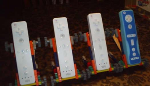 Cool K'Nex Wiimote Cradles