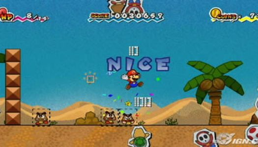 GDC07: New Paper Mario Footage