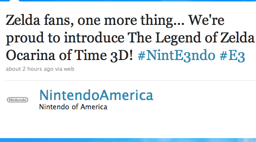 Rumor: Ocarina Of Time Coming Through 3DS? (Update: Confirmed)