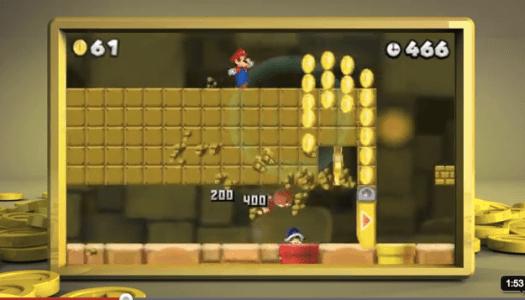 Nintendo 3DS – New Super Mario Bros. 2 E3 Trailer