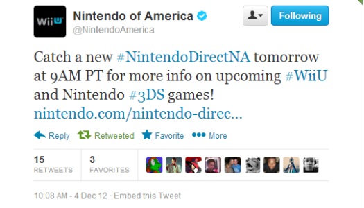 North American Nintendo Direct at Noon EST Tomorrow, Coincides with EU Direct