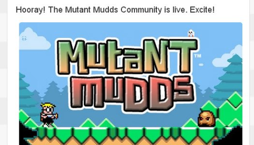 Mutant Mudds Miiverse Community Launches for US