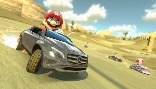 Mario Kart 8's Mercedes Benz DLC Heading to the US and Europe