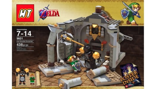 The Legend of Zelda Misses Out on LEGO Approval