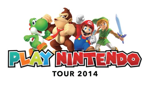Play Nintendo Tour 2014 Kicks off on June 6 in Los Angeles