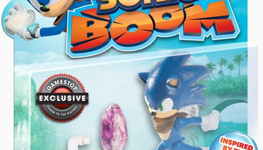 Exclusive Sonic Boom Figurine for Game Pre-orders