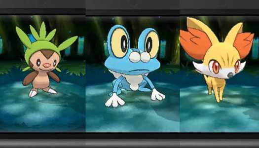 Three More Pokémon for Pokémon X and Y