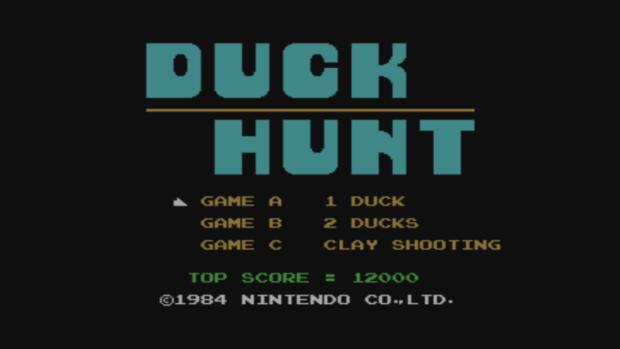Duck Hunt - title