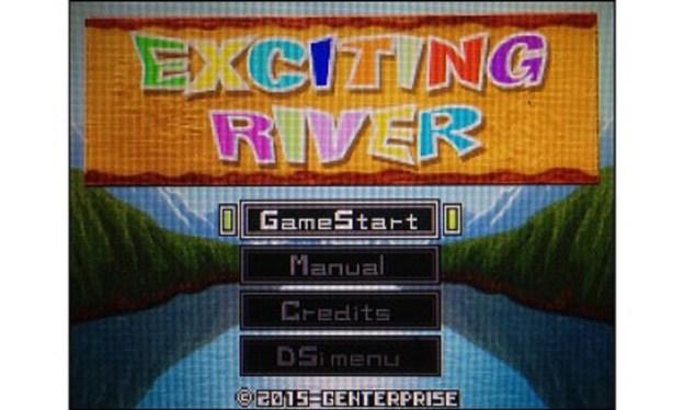 Exciting River - menu