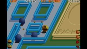 Pac-Mania gameplay