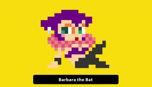 Super Mario Maker adds Barbara the Bat Costume
