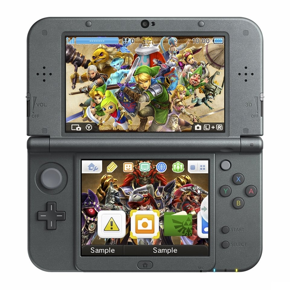 Free 3DS menu that's included with the game.