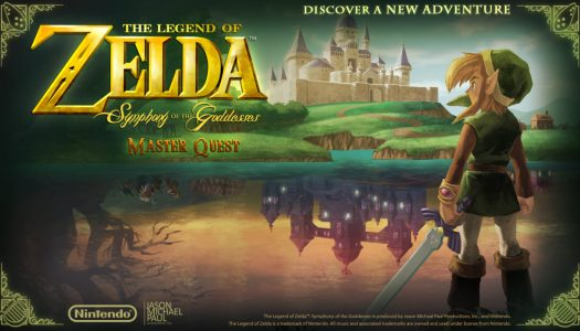"PR: ""The Legend of Zelda: Symphony of the Goddesses – Master Quest"" 2016 Tour Adds New Show Dates"