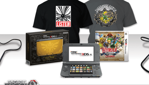 Contest: Win a Zelda Themed Arcade Block – NEW 3DS XL, Hyrule Warriors Legends and More