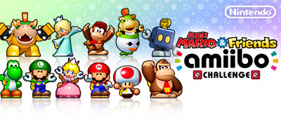 Mini Mario amiibo banner