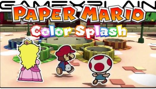 E3 2016: Nintendo announces launch date for Paper Mario: Color Splash