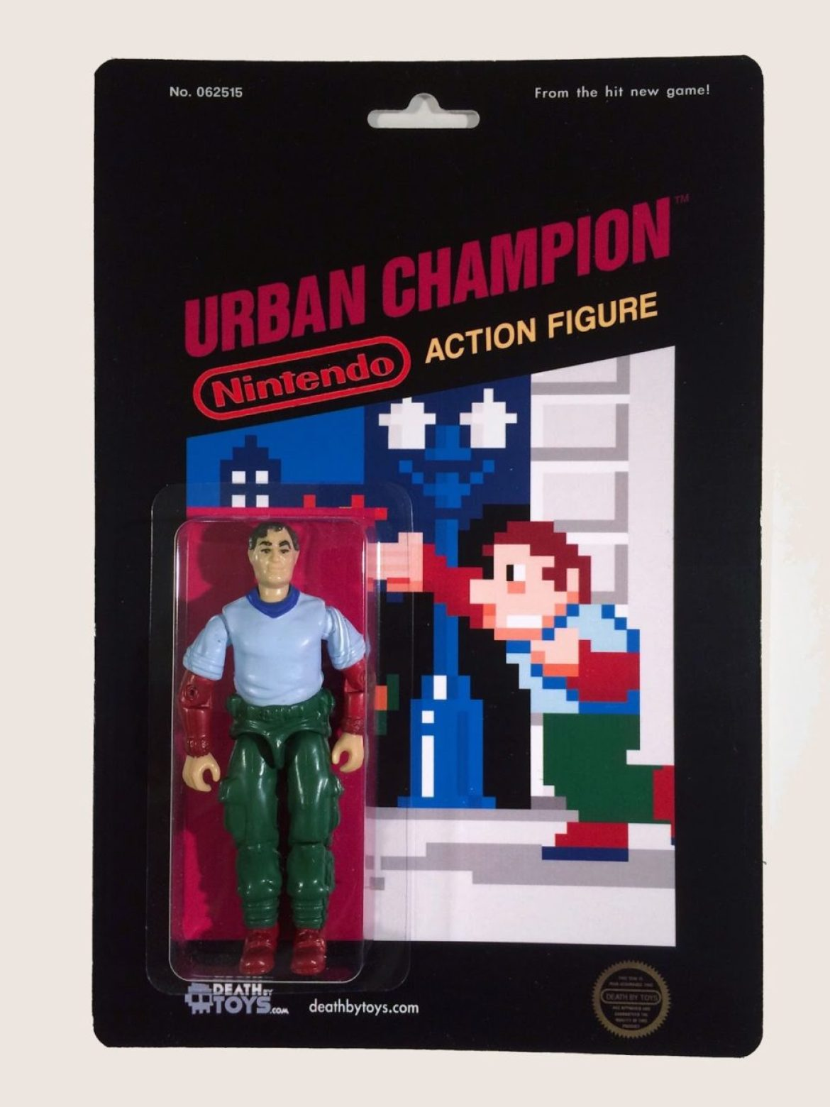 Custom Nintendo Urban Champion Figure